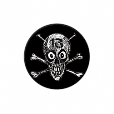 13 Skull Badge (no logo)